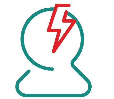 Migränjälpen symbol migrän